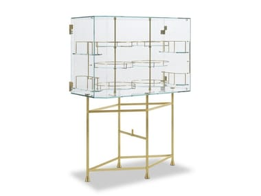 Glass bar cabinet FLOAT
