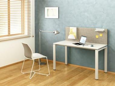 Scrivania rettangolare in legno FLOAT HOME OFFICE