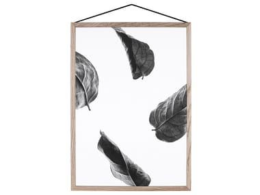 UV print on transparent foil FLOATING LEAVES
