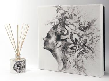 Natural stone Air freshener dispenser FLOATING Premium - Uva e Mirtilli