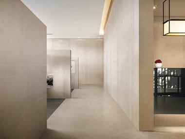 Wand- und Bodenbelag aus Feinsteinzeug FLOORTECH