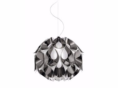Luminária pendente LED FLORA PEWTER