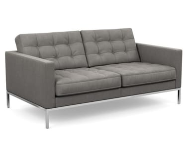Tufted 2 seater sofa FLORENCE KNOLL RELAX | Tufted sofa