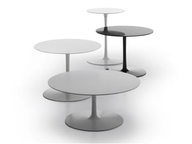 Mesa de centro redonda FLOW LOW TABLES