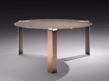 Contemporary style round living room table FLOW | Round table