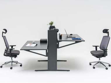 Multiple office workstation FLOW | Office workstation