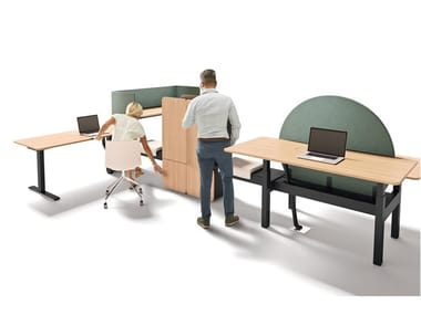 Office workstation FLOW | Office workstation