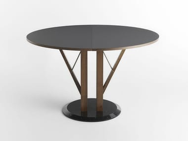 Extending round Fenix-NTM® table FLOWER
