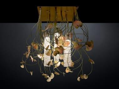 LED ceiling lamp FLOWER POWER ANTHURIUM