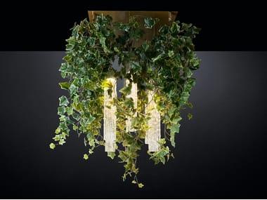 LED ceiling lamp FLOWER POWER IVY