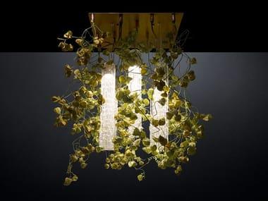 LED ceiling lamp FLOWER POWER PHYSALIS