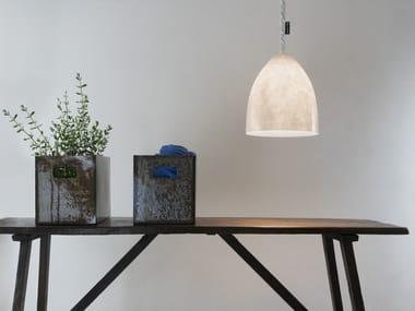 Lampada a sospensione a LED a luce diretta in materiale composito FLOWER S NEBULA