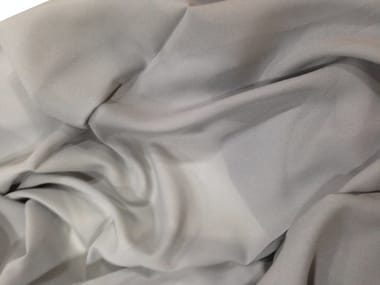 Solid-color fabric for curtains FLOWING