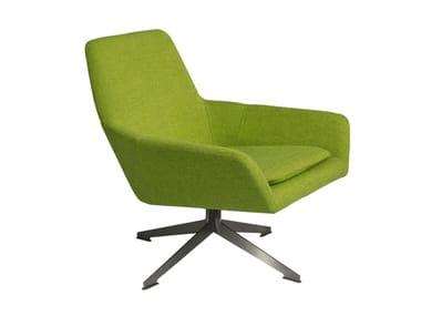 Drehbarer Sessel aus Stoff FLOYD   Sessel