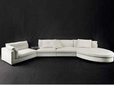 Fabric sofa with chaise longue FLOYD | Sofa
