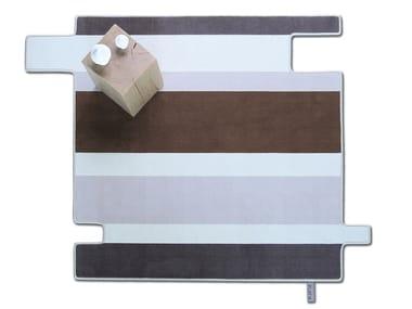 Streifen- Teppich aus Wolle FLYING STRIPES 002