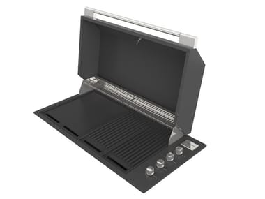 Barbecue a gas in acciaio smaltato FOBQ 1000 G MBK | Barbecue