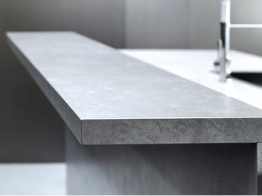 Porcelain stoneware kitchen worktop FURNISHING - FOKOS