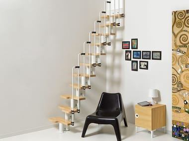 Steel And Wood Mini Staircase FOKUS