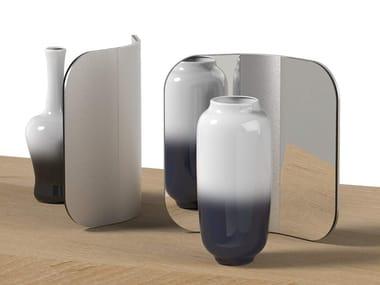 Countertop glass and aluminium mirror FOLD   Mirror