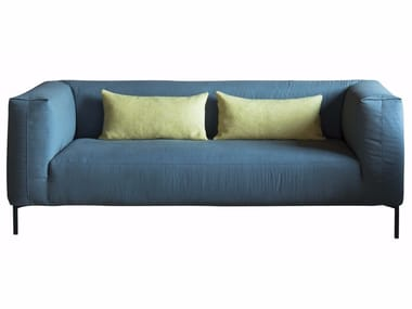 Sectional fabric sofa with removable cover FOLD | Sectional sofa