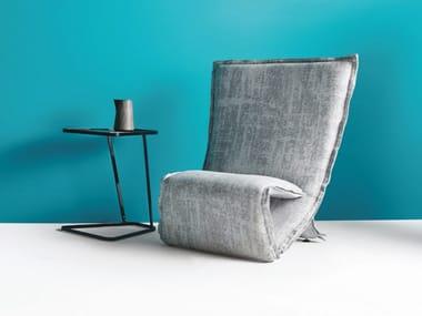 Folding high-back armchair FOLD