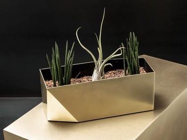 Vaso in metallo FOLD | Vaso