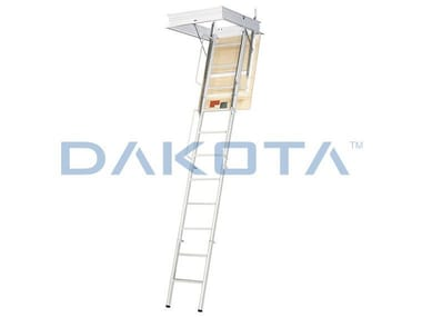 Steel Retractable stair FOLDING STAINLESS STEEL STAIR