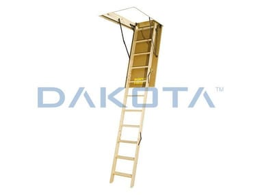 Wooden Retractable stair FOLDING WOOD STAIR