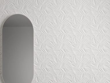 White-paste 3D Wall Cladding FORME BIANCHE FOLIAGE