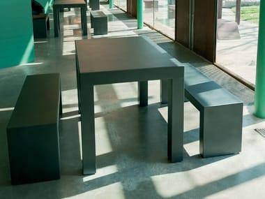 Rectangular Table for public areas FOLIUM | Table for public areas