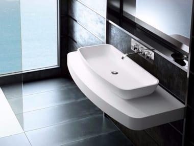 Silexpol® washbasin countertop FONTANA ILCSC04