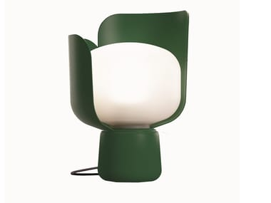 Table lamp FONTANAARTE - BLOM DARK GREEN