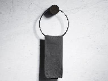 Porta asciugamani ad anello in marmo FONTANE BIANCHE | Porta asciugamani ad anello