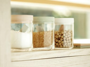Glass food-storage box FOOD CONTAINER GLASS