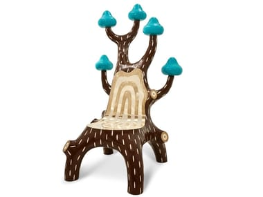Nautical resin and brass chair FOREST | Chair