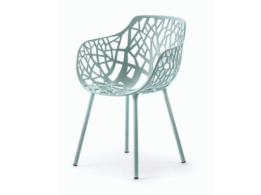 Garden chair with armrests FOREST | Chair with armrests