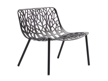 Aluminium garden armchair FOREST | Armchair