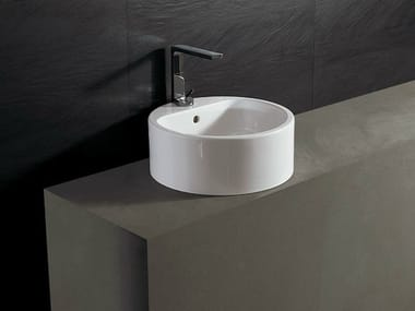 Round ceramic washbasin FORM 46 ROUND | Washbasin