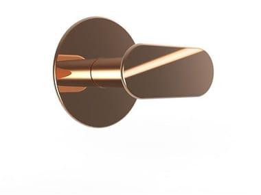 Wall-mounted brass coat rack MYAPP FORM - 60.010