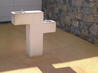 Concrete Drinking fountain FORM | Drinking fountain