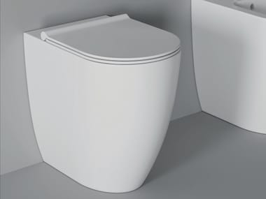 Ceramic toilet FORM SQUARE H 50 | Toilet