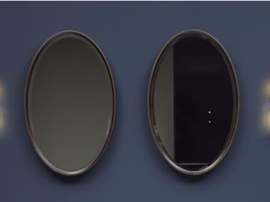 Specchio ovale da parete per bagno FORMA