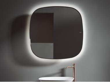 Wall-mounted bathroom mirror FORMA | Mirror