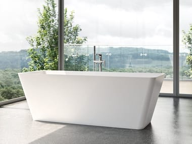 Freestanding rectangular bathtub FORMIA FREE