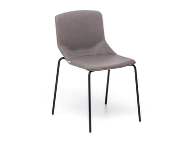 Upholstered fabric chair FORMULA SLIM  4L