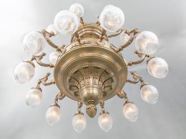 Handmade brass chandelier FORTUNA 24 | Chandelier