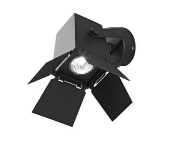 Wall-mounted adjustable metal spotlight FOTO | Wall-mounted spotlight