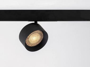 Illuminazione a binario a LED in alluminio verniciato a polvere FOUR 111 MAGNETIC