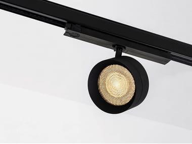 Illuminazione a binario a LED in alluminio verniciato a polvere FOUR 111 TRACK